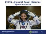 9 18 06 anousheh ansari becomes space tourist 4