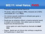 802 11 n vel f sico fhss