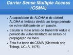 carrier sense multiple access csma