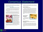consensus statement