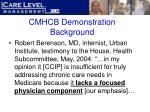 cmhcb demonstration background18