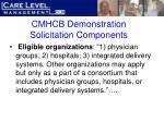 cmhcb demonstration solicitation components21