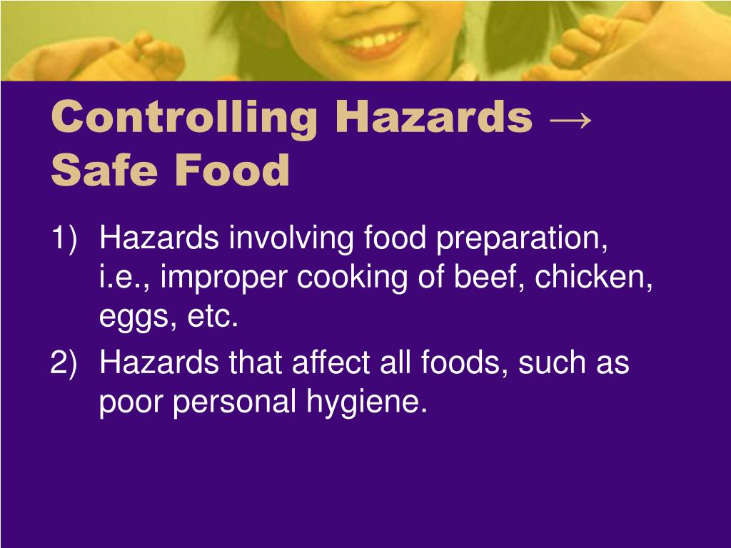 safe food preparation essay Food safety for your family proper food preparation protects against foodborne illnesses from bacteria such as e buying food buying safe food is the first.