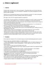 14 intern reglement