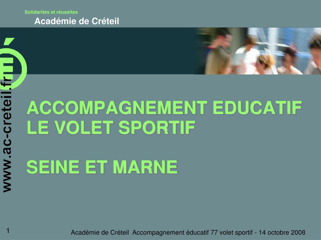 accompagnement educatif le volet sportif seine et marne l.