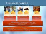 e business solution