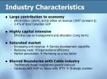 industry characteristics8