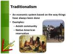 traditionalism