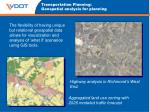 transportation planning geospatial analysis for planning