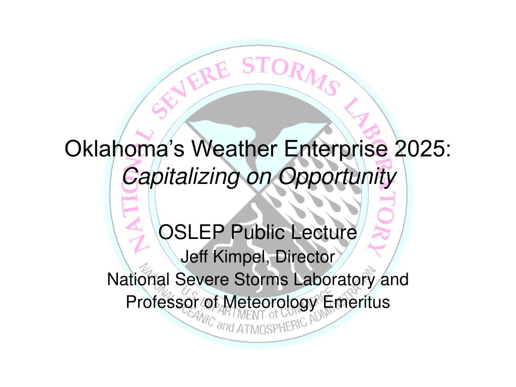 oklahoma s weather enterprise 2025 capitalizing on opportunity l.