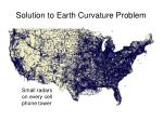 solution to earth curvature problem
