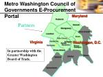 metro washington council of governments e procurement portal