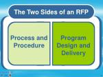 two sides of rfp