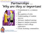 partnerships why are they so important