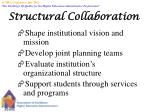 structural collaboration