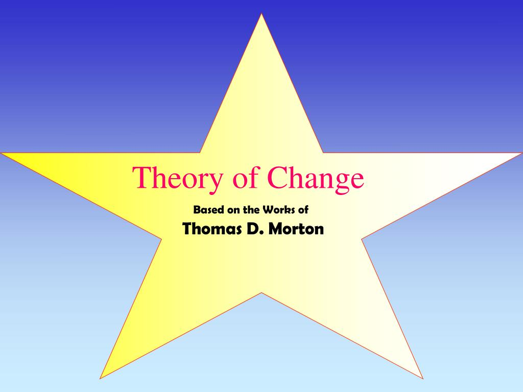 theory of change l.