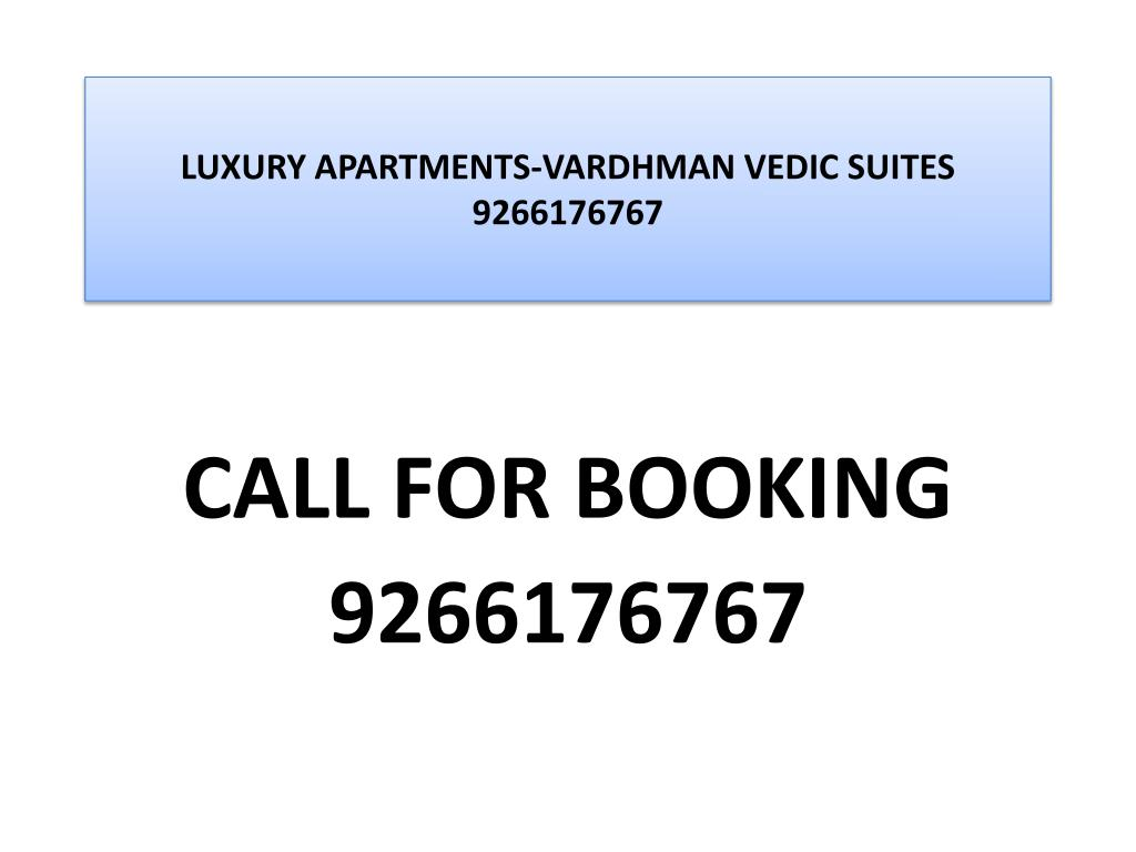 luxury apartments vardhman vedic suites 9266176767 l.