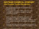 eastman chemical company case example content management