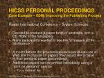 hicss personal proceedings case example edm improving the publishing process