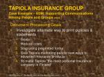 tapiola insurance group case example edm supporting communications among people and groups cont
