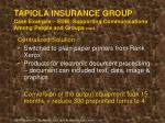 tapiola insurance group case example edm supporting communications among people and groups cont50