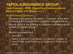 tapiola insurance group case example edm supporting communications among people and groups cont51