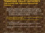 tennessee valley authority case example edm supporting organizational processes cont