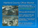 hartford county office market