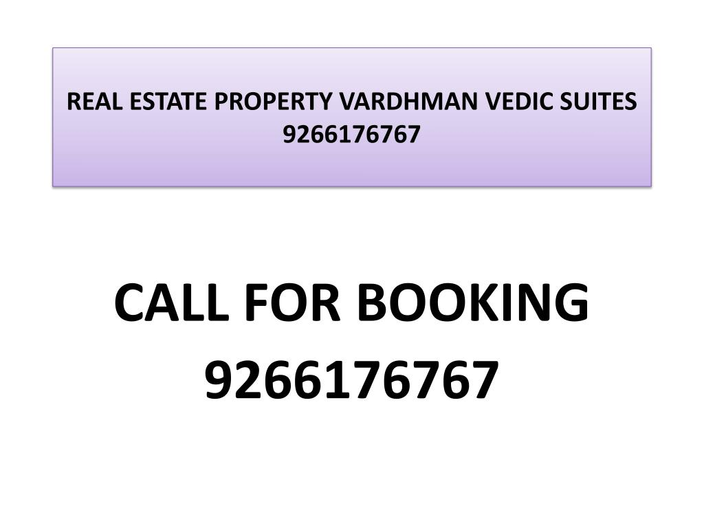 real estate property vardhman vedic suites 9266176767 l.