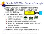 simple b2c web service example