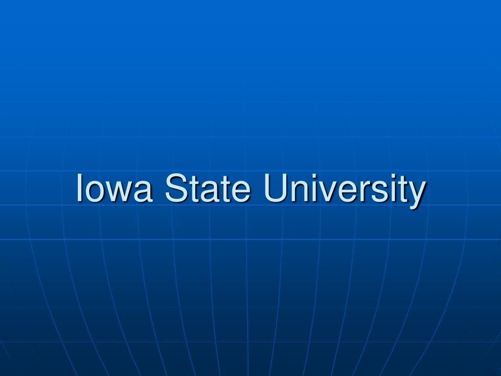 iowa state university l.