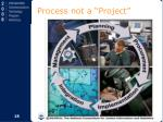 process not a project