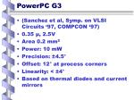 powerpc g3