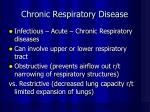 chronic respiratory disease22