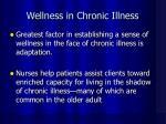 wellness in chronic illness