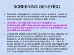 screening genetico