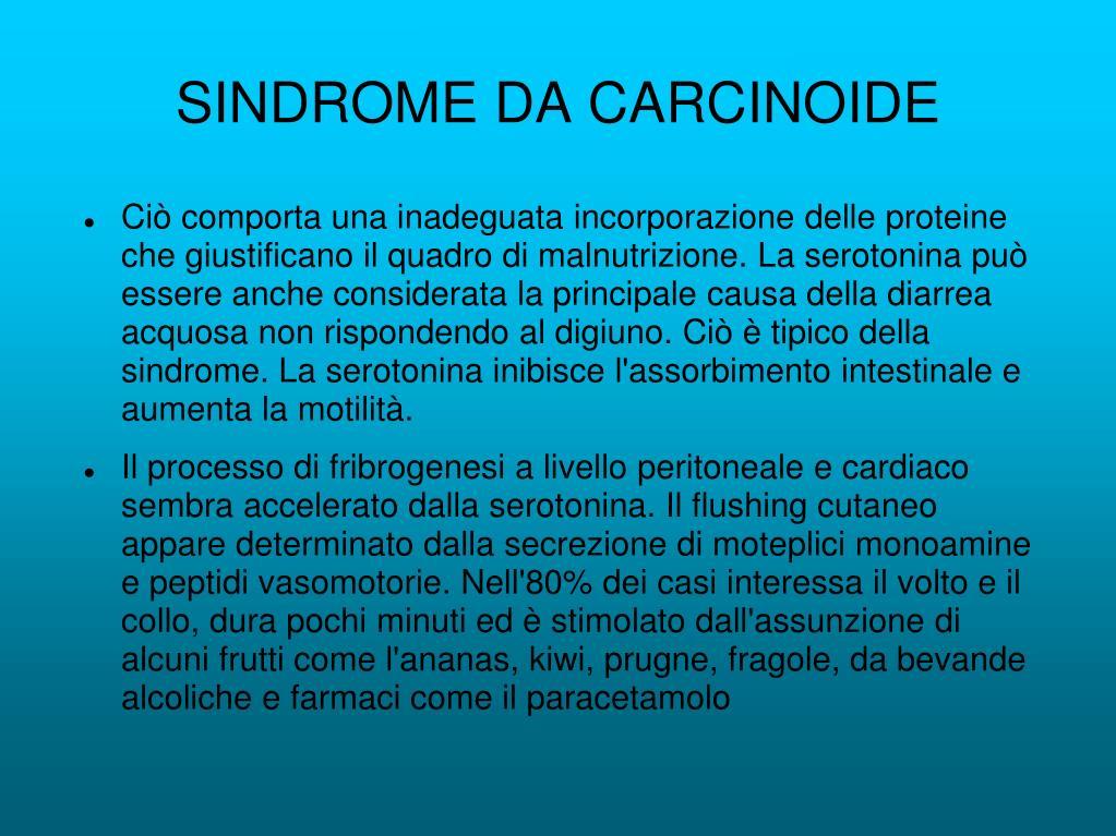 SINDROME DA CARCINOIDE