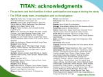 titan acknowledgments
