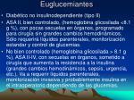 euglucemiantes