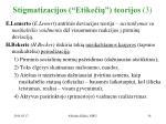 stigmatizacijos etike i teorijos 3