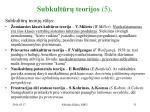 subkult r teorijos 5