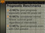 prognostic benchmarks