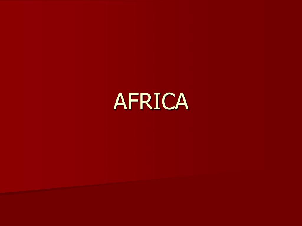 africa l.