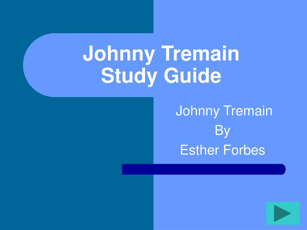 johnny tremain study guide l.