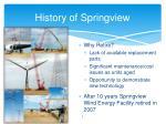 history of springview4