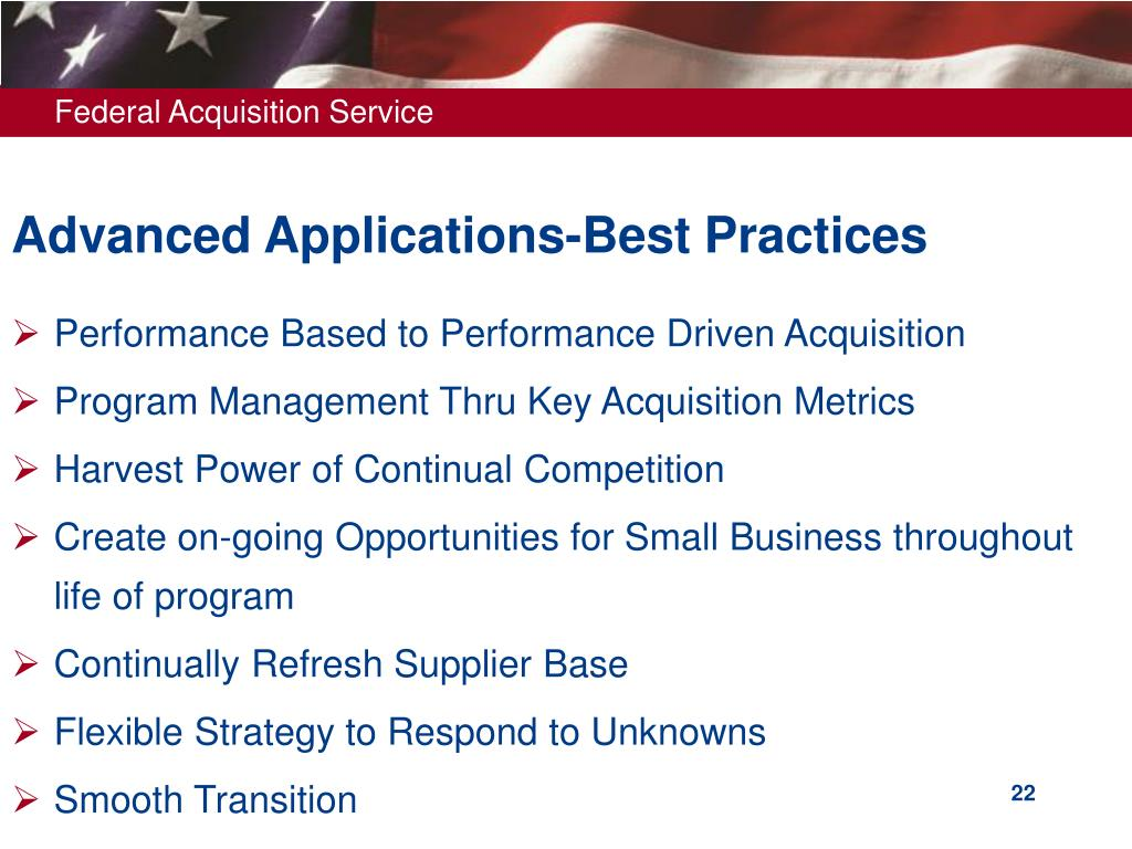 Advanced Applications-Best Practices
