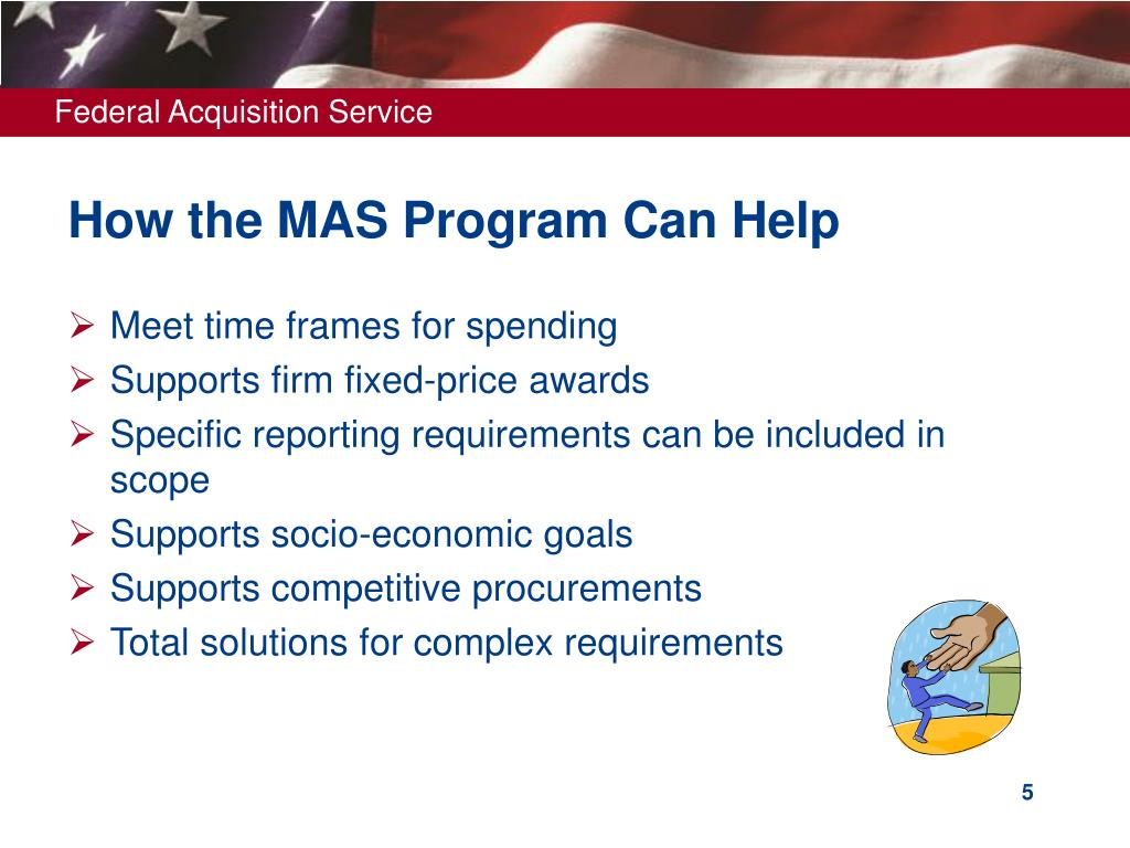 How the MAS Program Can Help