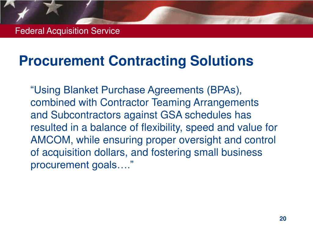 Procurement Contracting Solutions