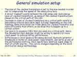 general simulation setup1