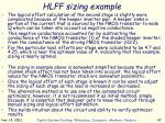 hlff sizing example3